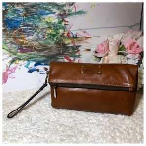 Patricia Nash Leather Valerie Clutch